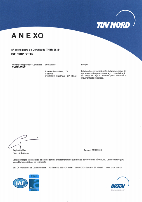 Certificado ISO9001 NEADE 2015 2016